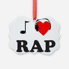 RAP MUSIC Ornament