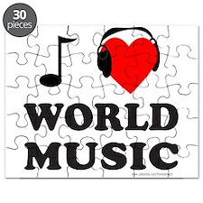 WORLD MUSIC Puzzle