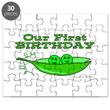 TWINS' FIRST BIRTHDAY Puzzle