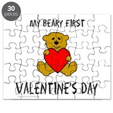 Cute Baby's first valentine's day Puzzle