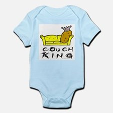 CouchPotatoKing.png Infant Bodysuit