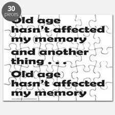 OLD AGE Puzzle