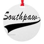 SOUTHPAW Round Ornament