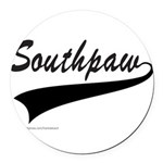 SOUTHPAW Round Car Magnet