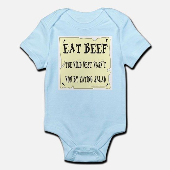 EAT BEEF Infant Bodysuit