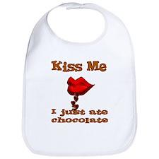 Chocolate Kiss Bib
