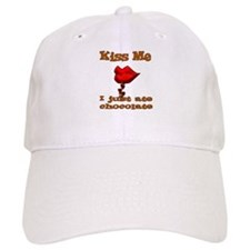 Chocolate Kiss Baseball Cap