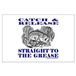 CATCH AND RELEASE Large Poster