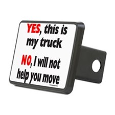 YES, THIS IS MY TRUCK Hitch Cover