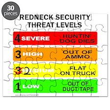 REDNECK SECURITY THREAT Puzzle