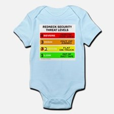 REDNECK SECURITY THREAT Infant Bodysuit