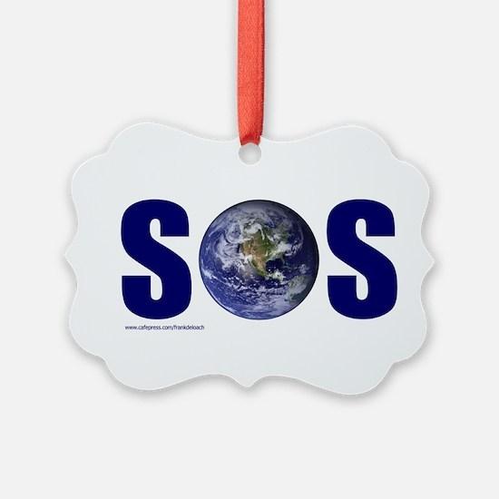 SOS EARTH Ornament