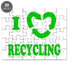 I LOVE RECYCLING Puzzle
