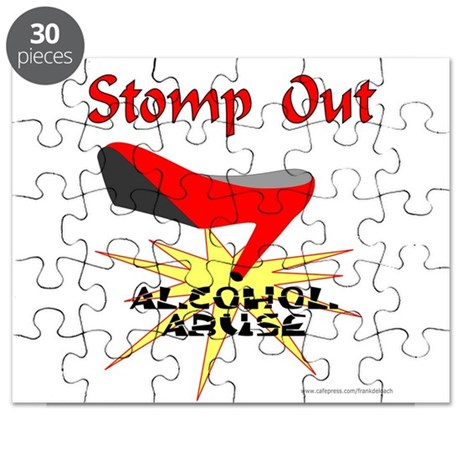 ALCOHOL ABUSE AWARENESS Puzzle