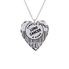 Cute Lung cancer Necklace
