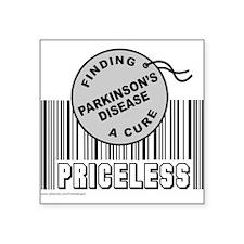 "Cute Parkinson's disease Square Sticker 3"" x 3"""