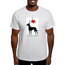 Louisiana Catahoula Ash Grey T-Shirt