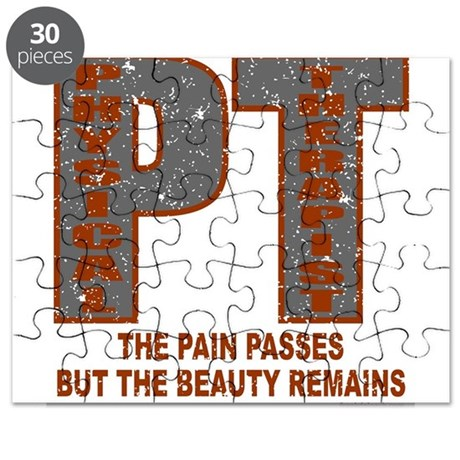 PHYSICAL THERAPIST Puzzle
