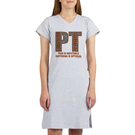 PHYSICAL THERAPIST Women's Nightshirt
