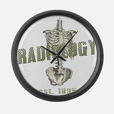 RADIOLOGY Large Wall Clock