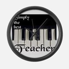 PIANO Large Wall Clock