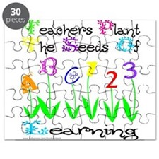 Cool Preschool teacher Puzzle