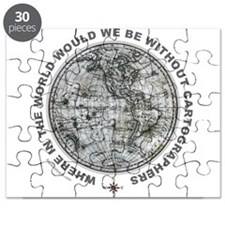 MAP/CARTOGRAPHY Puzzle