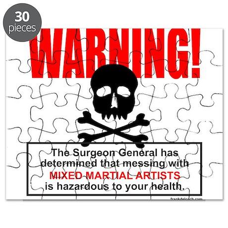 WARNING MMA Puzzle