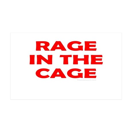 CAGE FIGHTING 35x21 Wall Decal
