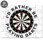 DARTBOARD/DARTS Puzzle