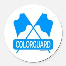 COLORGUARD Round Car Magnet
