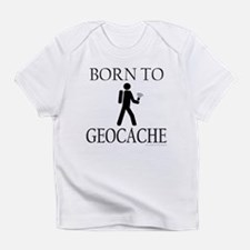 BORN TO GEOCACHE Infant T-Shirt