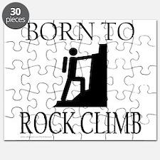 BORN TO ROCK CLIMB Puzzle