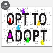 OPT TO ADOPT A CAT Puzzle