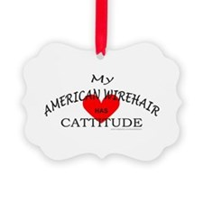 AMERICAN WIREHAIR Ornament