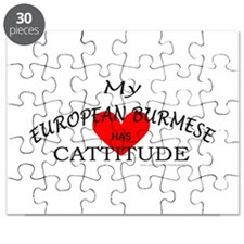 EUROPEAN BURMESE Puzzle