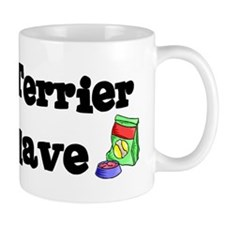Cairn Terrier FOOD SLAVE Small Mug
