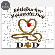 Cute Entlebucher mountain dog Puzzle