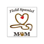 FIELD SPANIEL Square Sticker 3