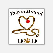 "IBIZAN HOUND Square Sticker 3"" x 3"""