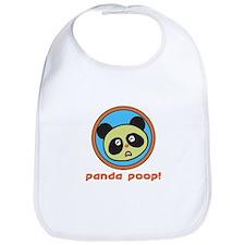 Panda Poop! Bib