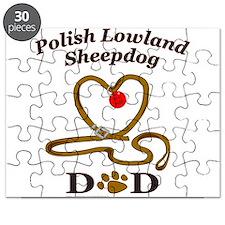 Unique Polish lowland sheepdog Puzzle