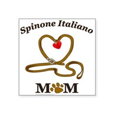 "SPINONE ITALIANO Square Sticker 3"" x 3"""