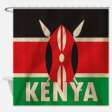 Funny Kenya Shower Curtain