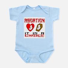 3-AbortionItIsAChoice.png Infant Bodysuit
