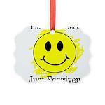 JUST FORGIVEN Picture Ornament