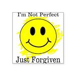 JUST FORGIVEN Square Sticker 3