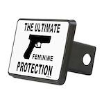 GUNS/FIREARMS Rectangular Hitch Cover