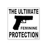 GUNS/FIREARMS Square Sticker 3