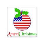 AMERICHRISTMAS Square Sticker 3